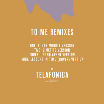 To Me Remixes cover art