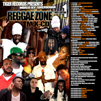 REGGAE ZONE MIX-CD 1 cover art