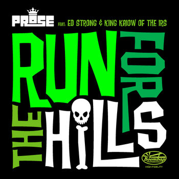 Run for the Hills feat. Ed Strong & King Kaiow cover art