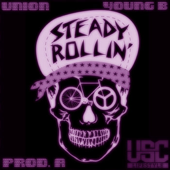 STEADY ROLLIN (PROD. A) cover art