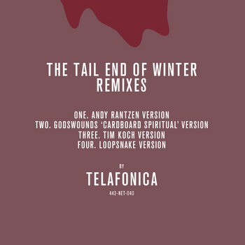 The Tail End Of Winter Remixes cover art