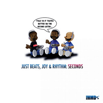 Just Beats, Joy, & Rhythm: Seconds cover art