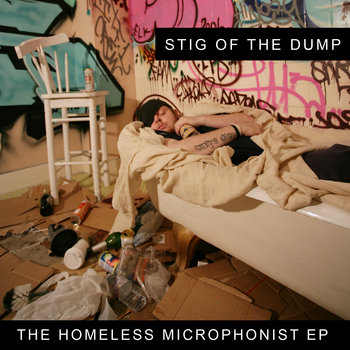 Homeless Microphonist EP cover art