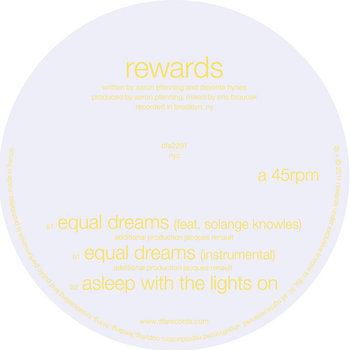 DFA 12&quot; &#39;Equal Dreams&#39; cover art