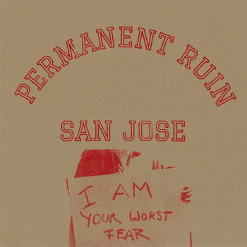 NNT#025 - Permanent Ruin - San Jose EP cover art