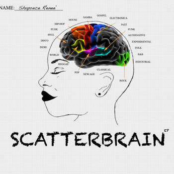 Scatterbrain EP: RE-RELEASE cover art