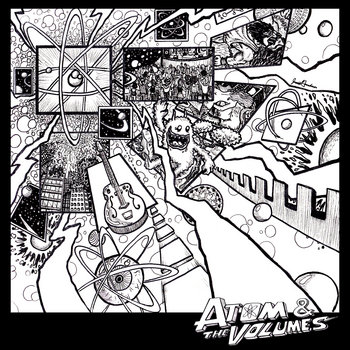 Atom & The Volumes EP cover art
