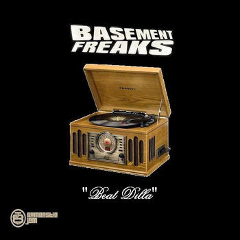 BJ 003 Basement Freaks - Beat Dilla cover art
