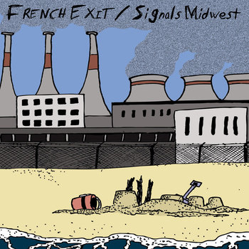 French Exit/Signals Midwest Split 7&quot; cover art