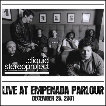 Live at Empenada Parlour cover art