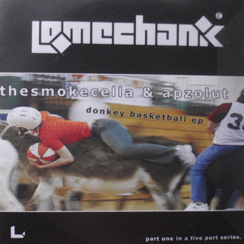 Donkey Basketball EP cover art