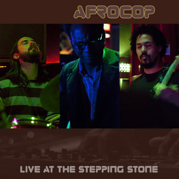 Afrocop-Live at The Stepping Stone cover art