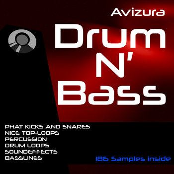 Avizura - Drum N Bass Sample Pack cover art
