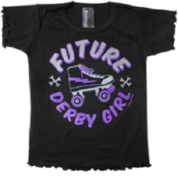 Future Derby Girl  - Girl's T cover art