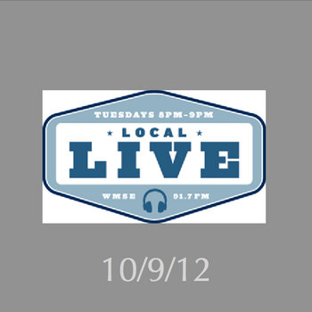 WMSE, Local/Live, 10/9/12 cover art