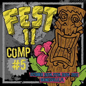 FEST11 Comp &#39;5 minutes to FEST&#39; cover art