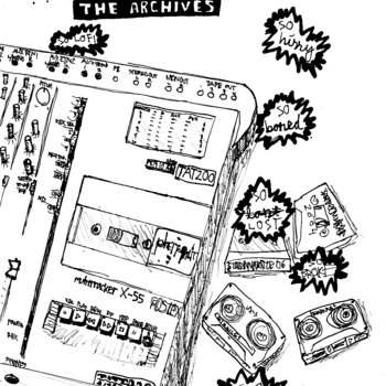 A 4track Mind: The Archives (BPN007) cover art