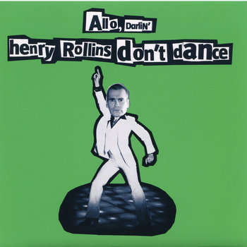 Henry Rollins Don't Dance cover art