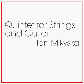 Quintet for Strings and Guitar cover art