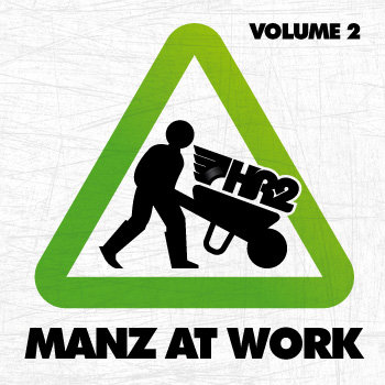 Manz at work mixtape vol. 2 cover art