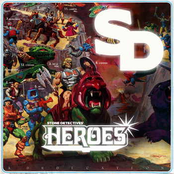 HEROES | A dedication cover art
