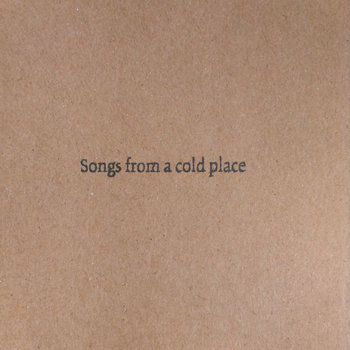 Songs from a cold place cover art