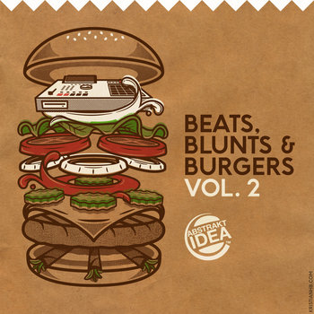 Beats, Blunts & Burgers Vol.2 cover art
