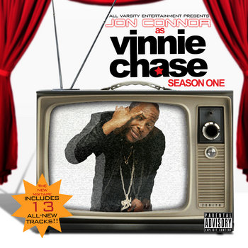 Jon Connor as Vinnie Chase: Season One cover art