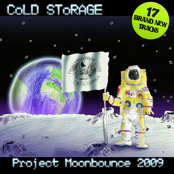 Project Moonbounce 2009 cover art