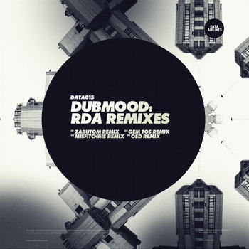 RDA Remixes (DATA015) cover art