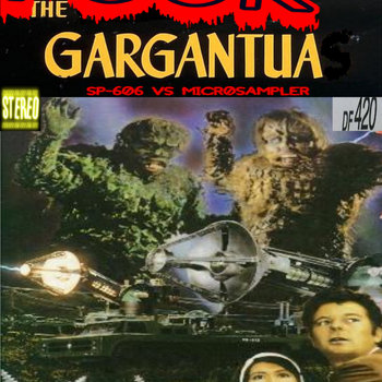 THE GARGANTUA VHS cover art