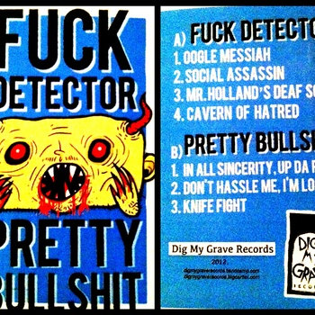 Split Tape With Fuck Detector cover art