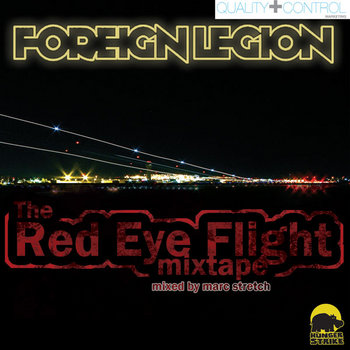 Foreign Legion - The Red Eye Flight Mixtape cover art