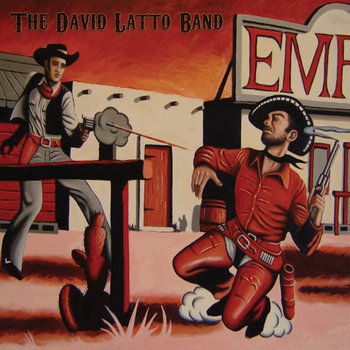 The David Latto Band cover art