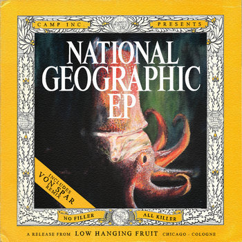 National Geographic EP cover art