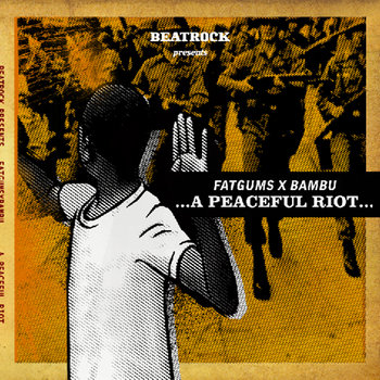 FATGUMS X BAMBU - A Peaceful Riot cover art