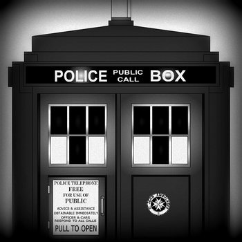 DOCTOR WHO THEME cover art