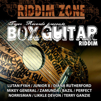 BOX GUITAR RIDDIM cover art