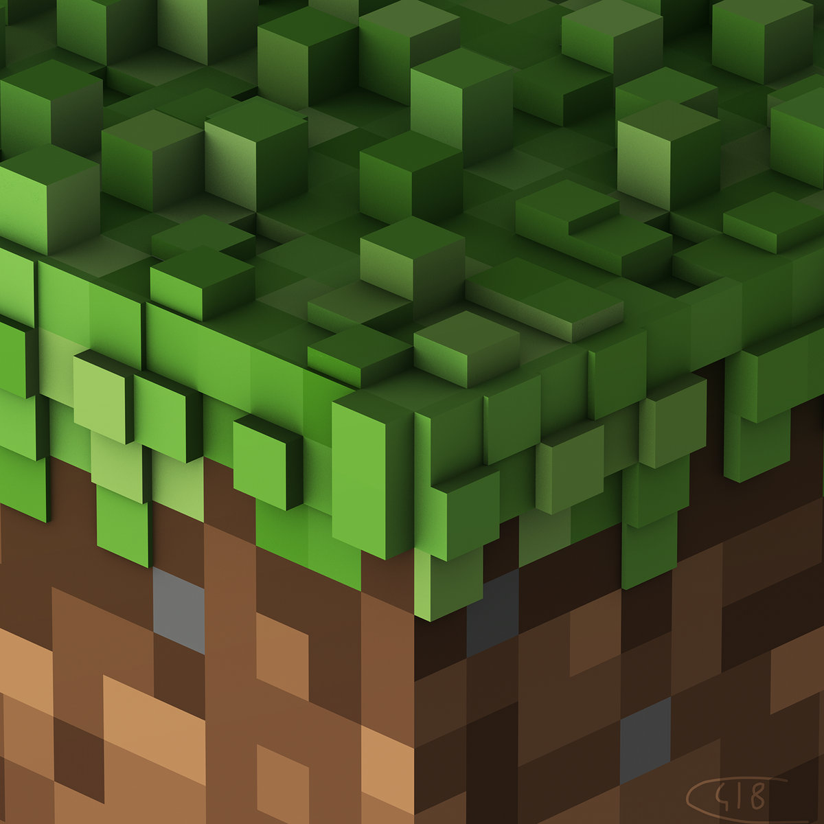 Minecraft volume alpha cover art