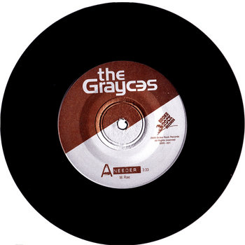 The Grayces Debut Vinyl EP 2010 cover art