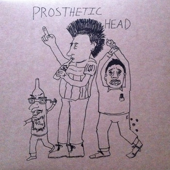 Prosthetic Head/Muscle Revolution cover art