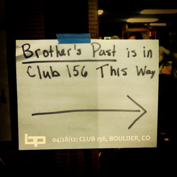 4/28/12 - Club 156 - Boulder, CO cover art