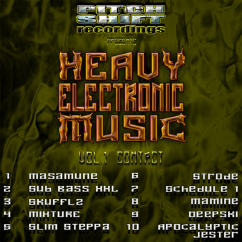 Heavy Electronic Music-Vol.1 Contact cover art