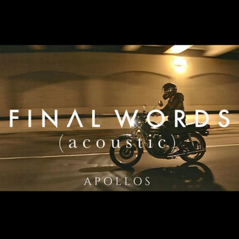 Final Words (Acoustic) - Single cover art