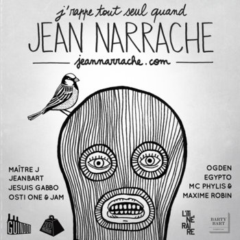 J'rappe tout seul quand Jean Narrache cover art