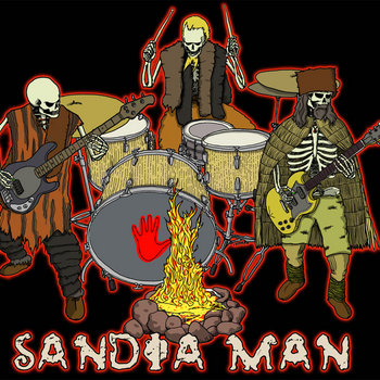 SANDIA MAN cover art
