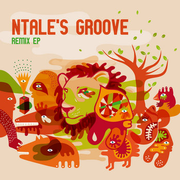 Ntale's Groove Remix EP cover art