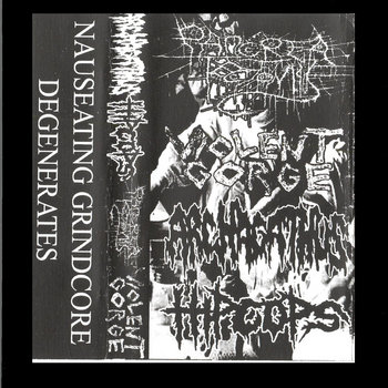 Nauseating Grind Degenerates cover art