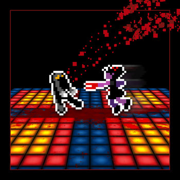 THEY BLEED PIXELS ON THE DANCE FLOOR cover art