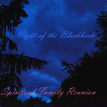 Night of the blackbirds - album cover art